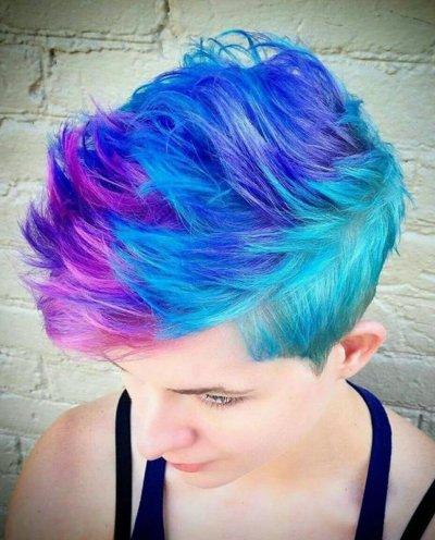 Окрашивание на короткие волосы: варианты окрашивания с фото