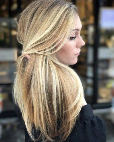 Платиновый блонд, мелирование: техника окрашивания, советы по выбору оттенка, фото
