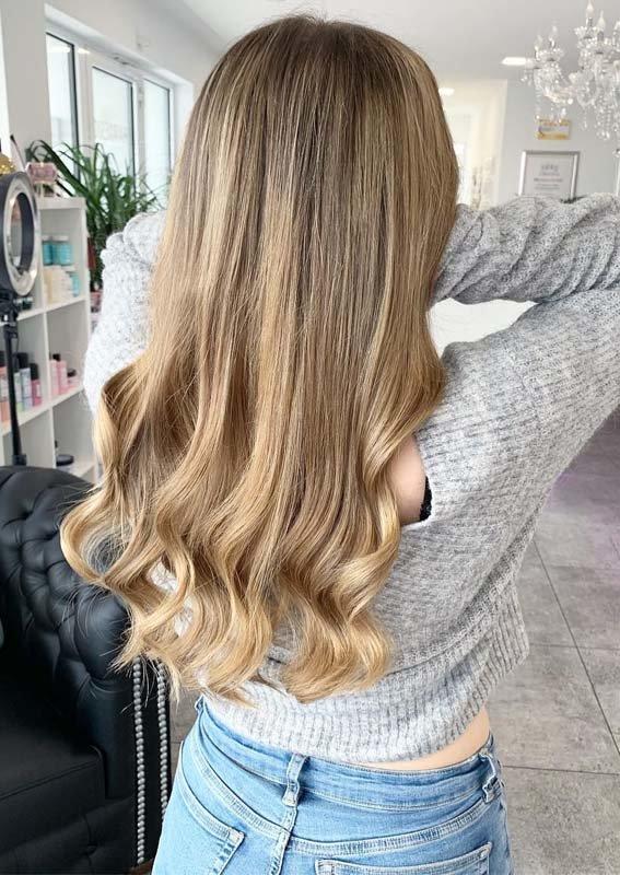 цвет волос блонд оттенки бежевого