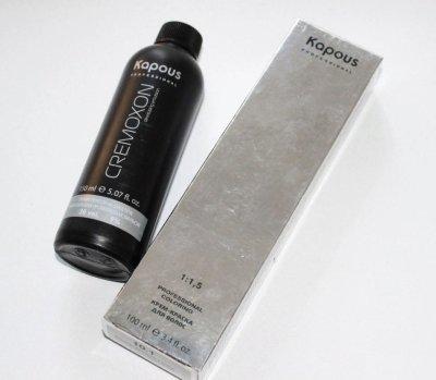 Окислитель Kapous Cremoxon: как применять для окрашивания волос