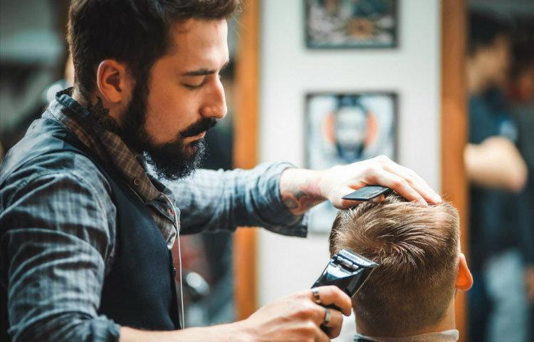 Выстригание полубокса