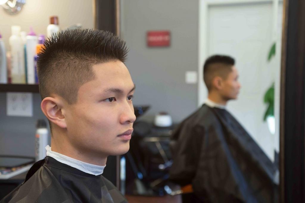 Клиент в парикмахерской