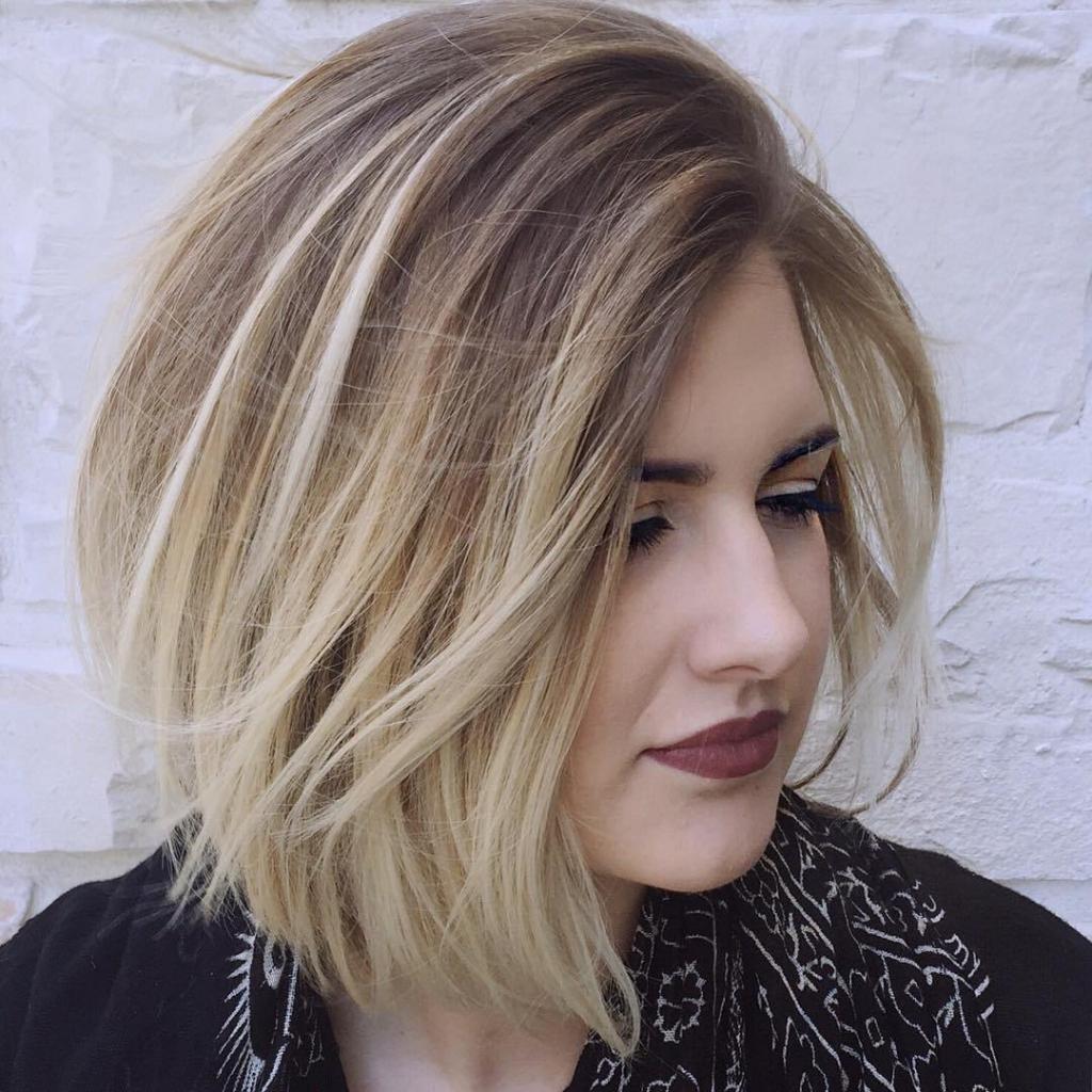 Теплые оттенки цветов волос