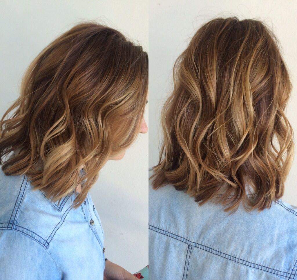Теплые оттенки волос