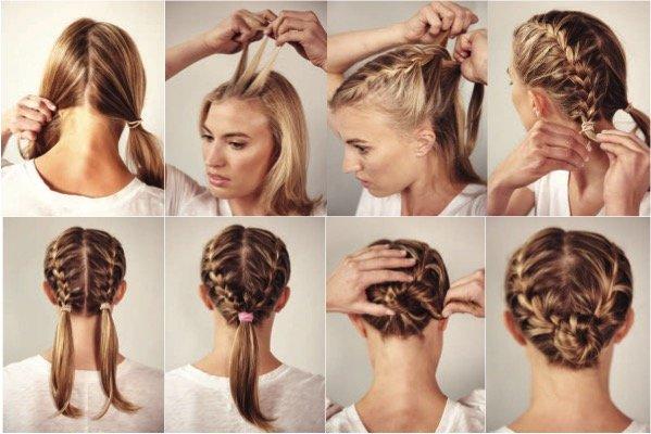 научиться плести косы поэтапно