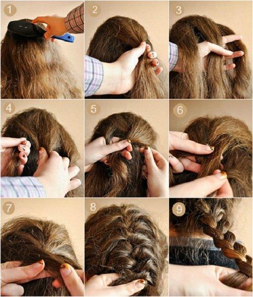 как научиться плести французскую косу