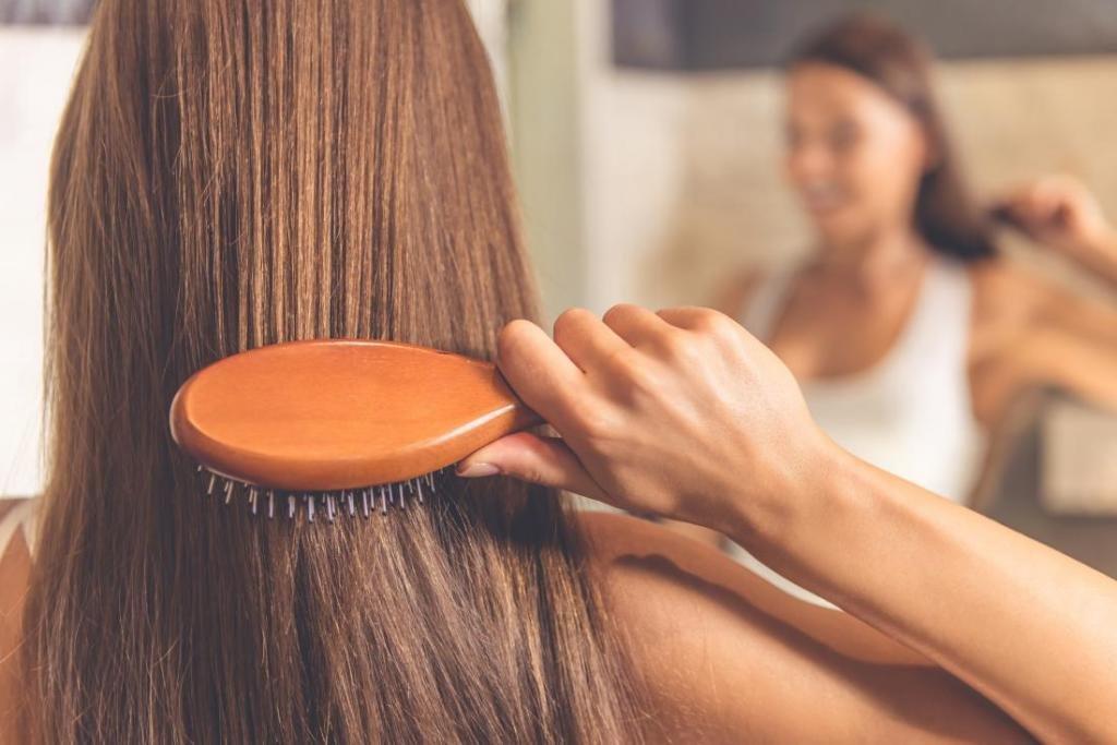 как самостоятельно уложить волосы