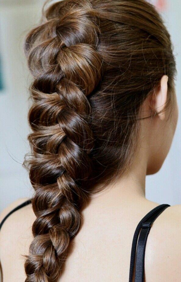 Коса навыворот