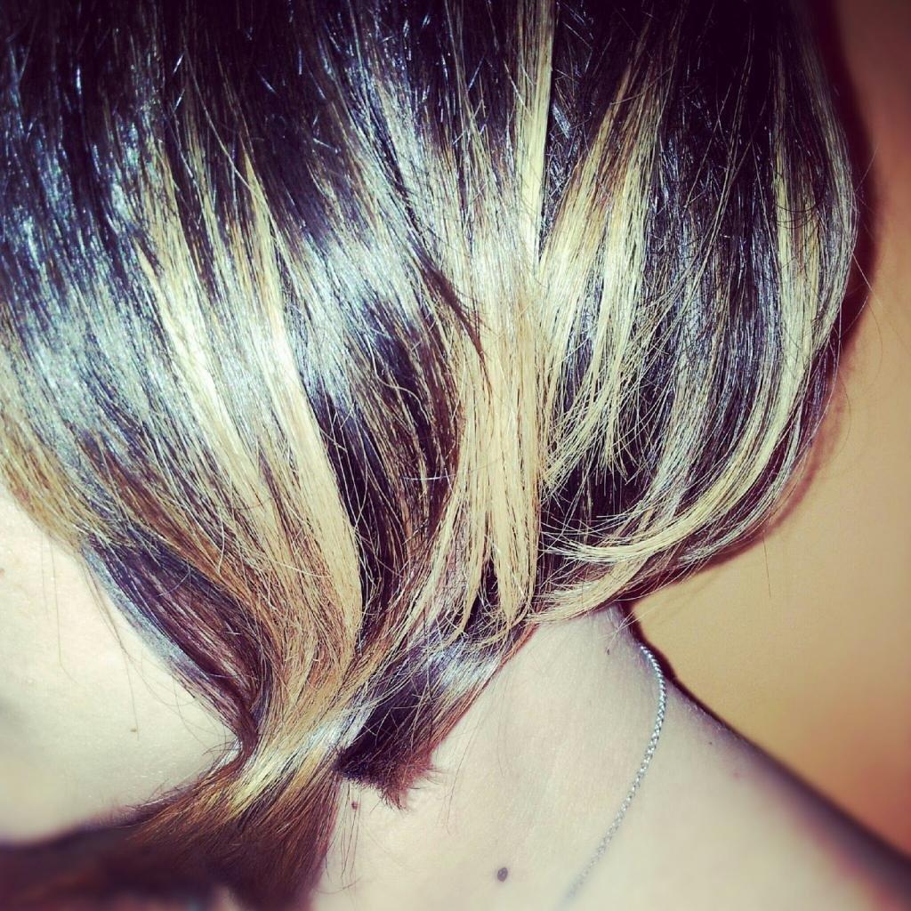 Шатуш - как делается на короткие волосы