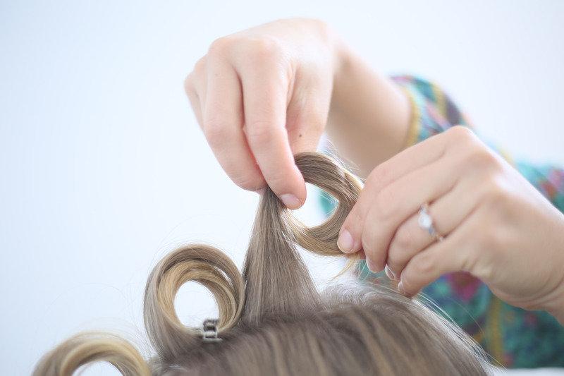 Как сделать крупные волосы дома