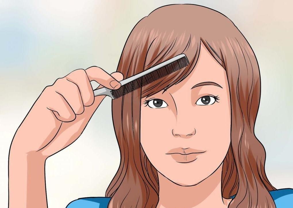 Как правильно стричь челку в домашних условиях