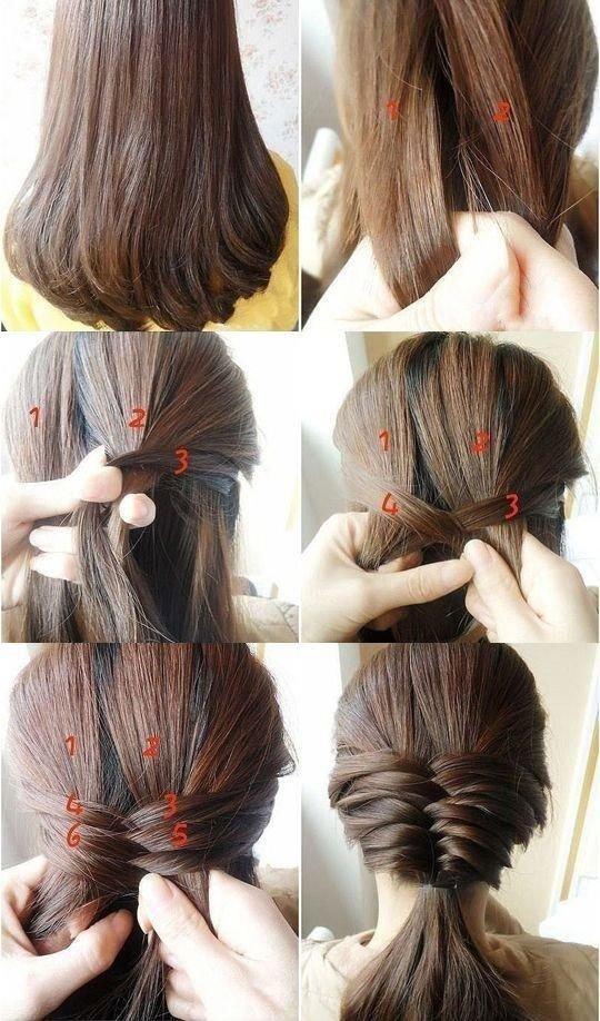 красиво заплести девочку с длинными волосами