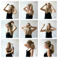 Как сделать хвост с начесом на макушке: пошаговая инструкция с фото