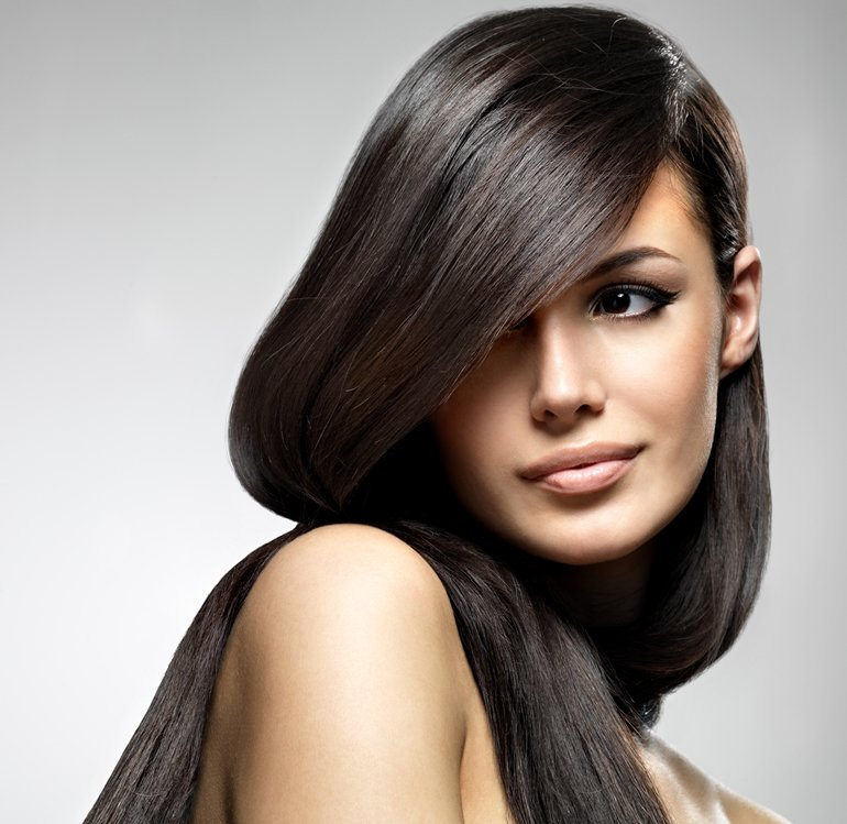 покраска волос на темные волосы