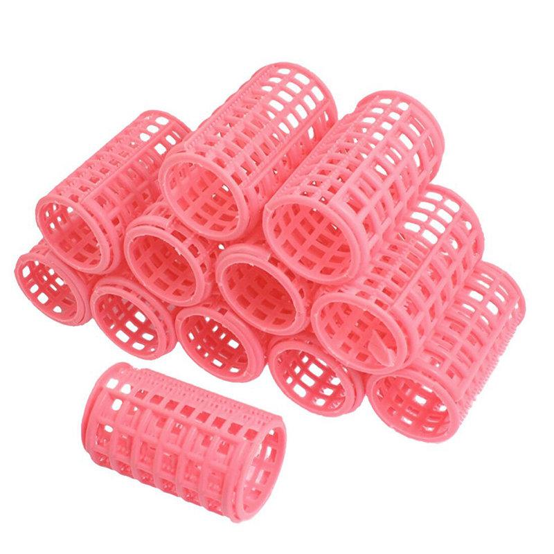 Пластиковые бигуди с зажимами
