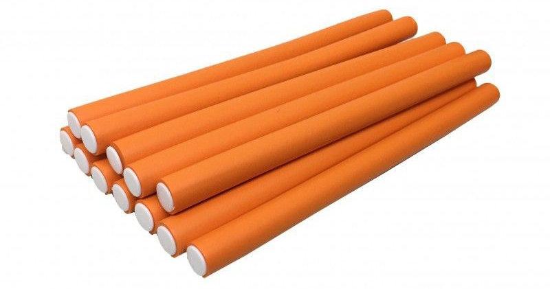 Оранжевые папильотки