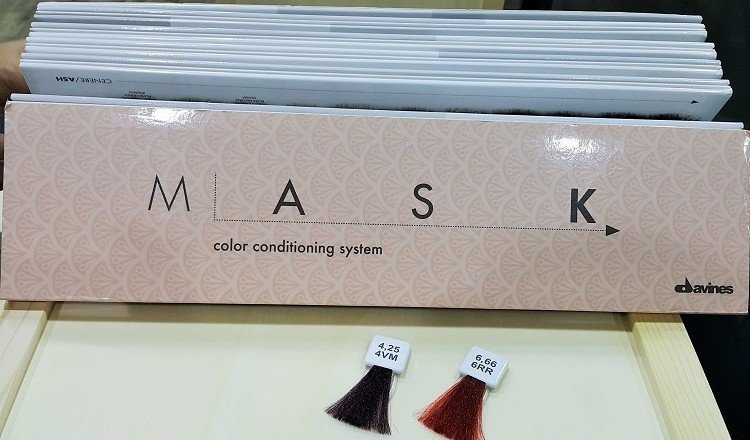 Краска Davines Mask