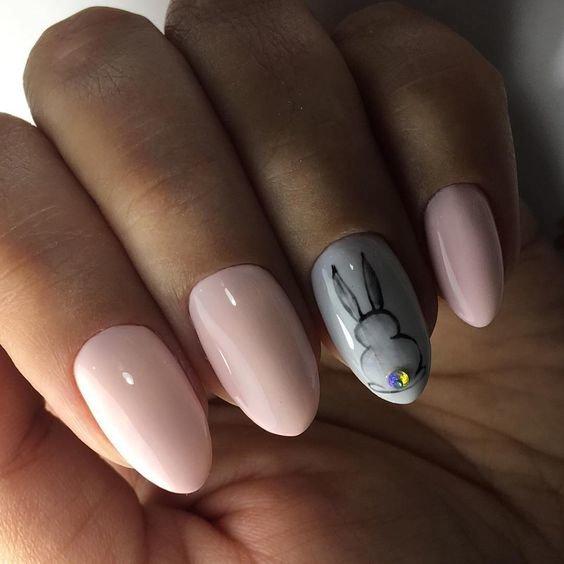 дизайн ногтей с животными