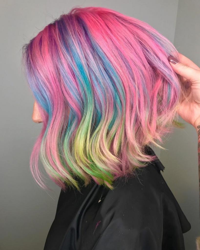 что такое палитра красок для волос