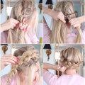 Прическа корзинка для девочек: как плести на длинные волосы