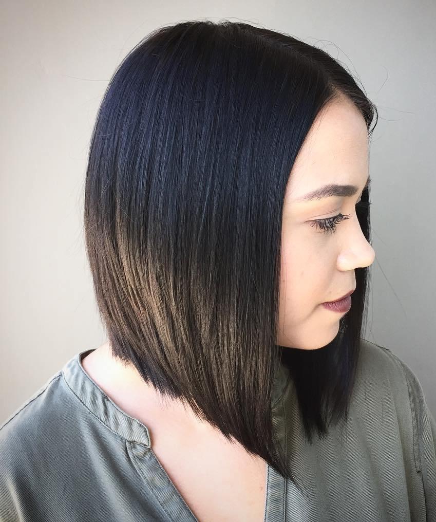 волосы до плеч
