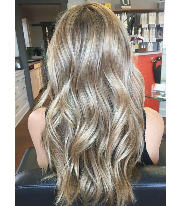 Платиново-русый цвет волос