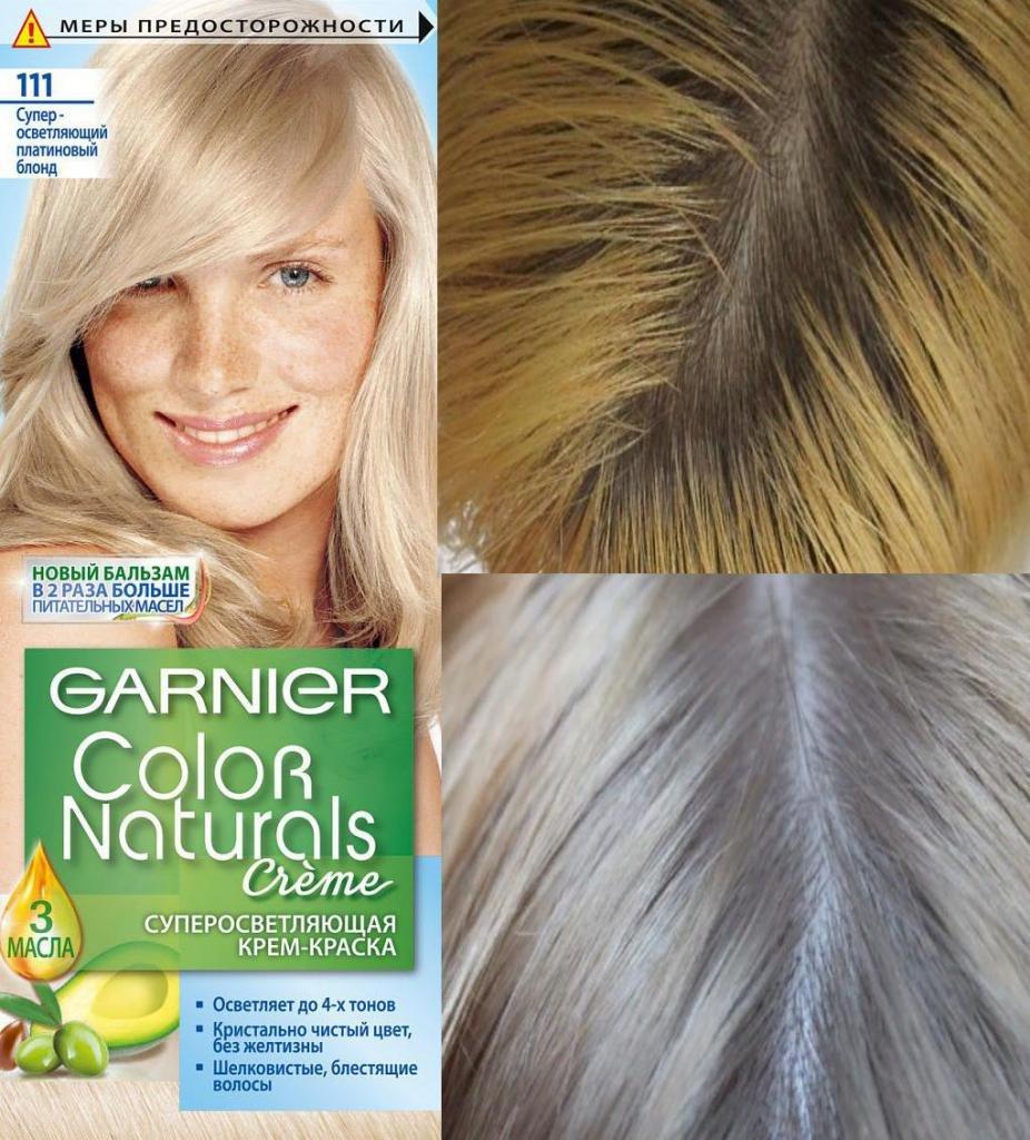 Платиновый блонд 111 Гарньер