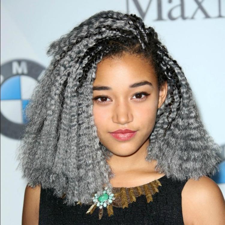 Гофрированные волосы