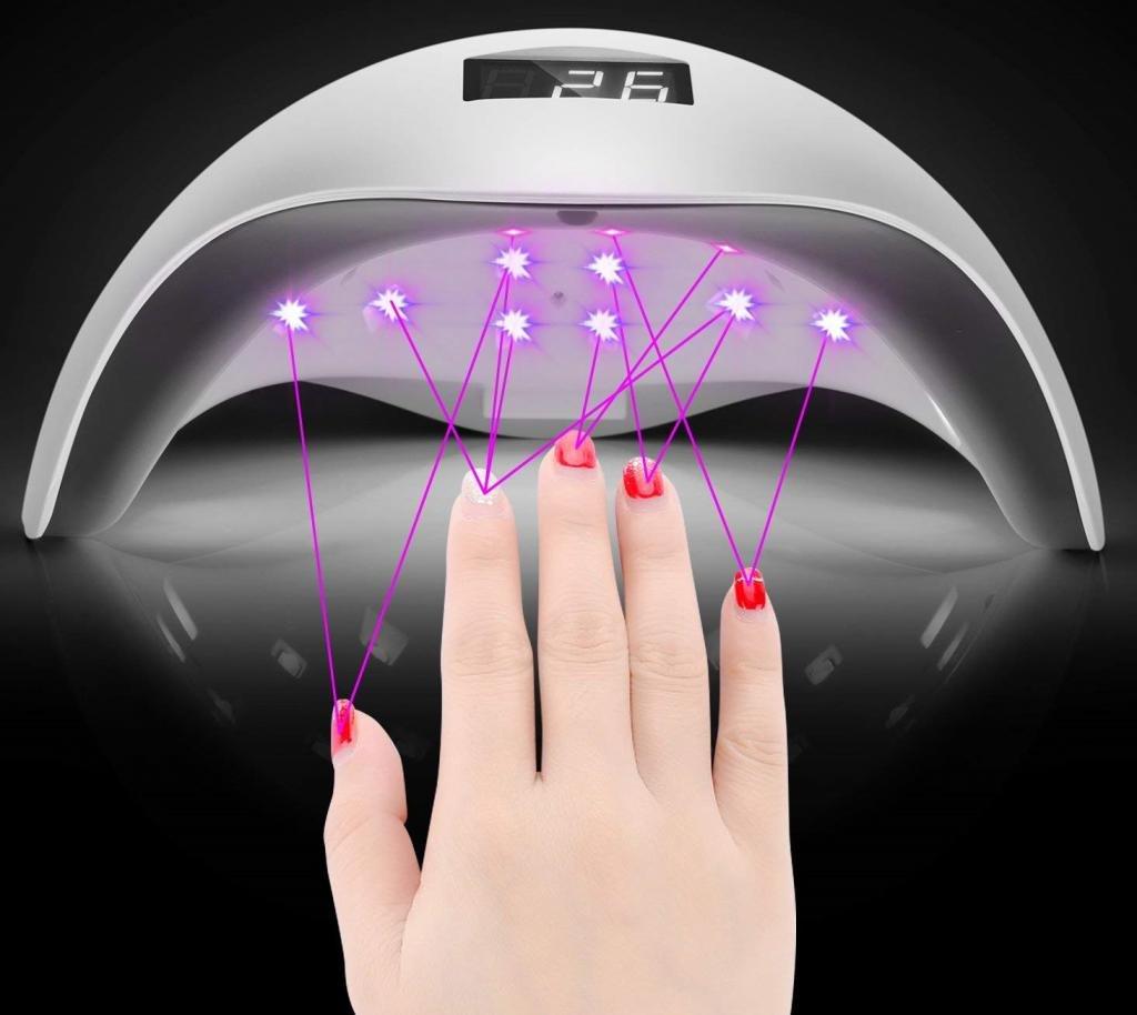 Мощность гибридной лампы для ногтей