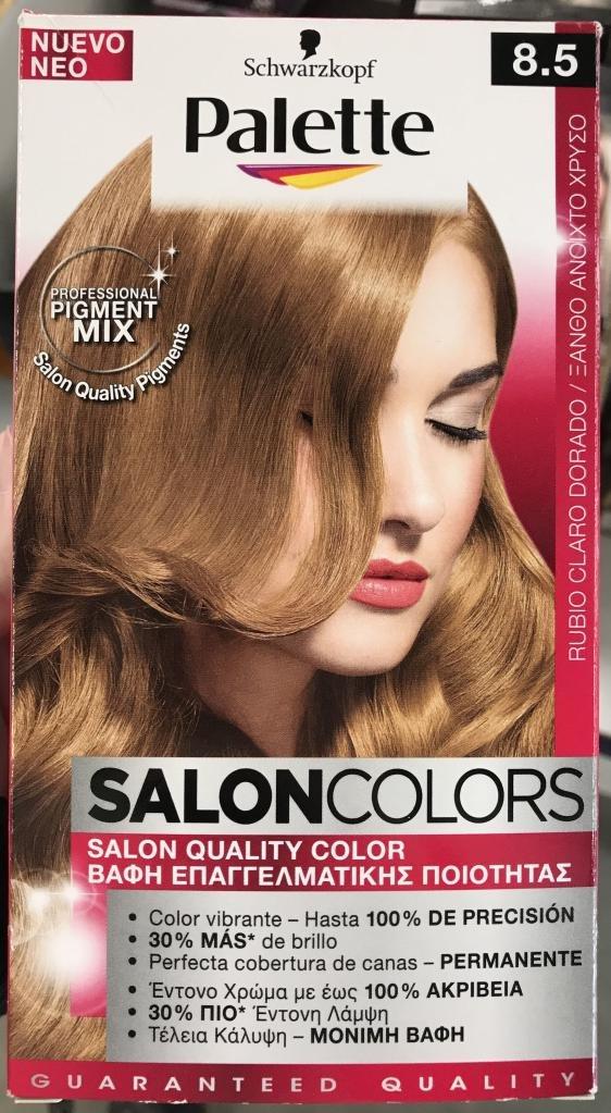 краска для волос палет палитра