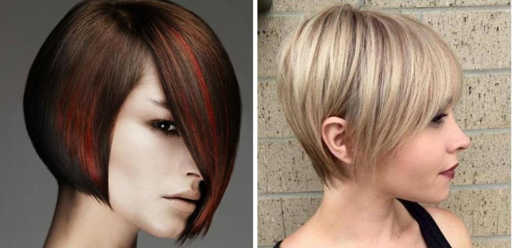 как подстричь челку самостоятельно косую