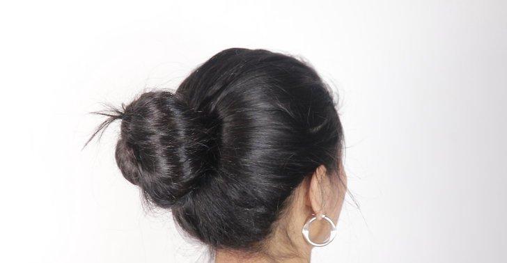 Бублик для волнистых волос
