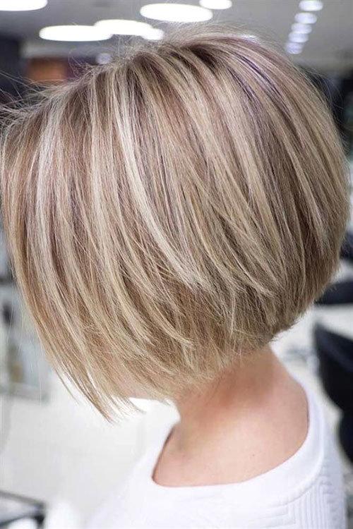 стрижки с короткой макушкой на короткие волосы