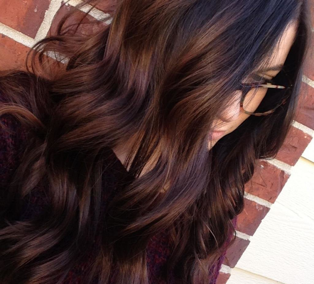 цвет волос медный шатен