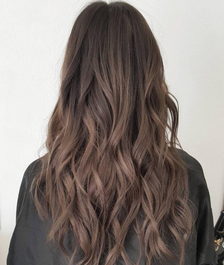 цвет волос пепельный шатен