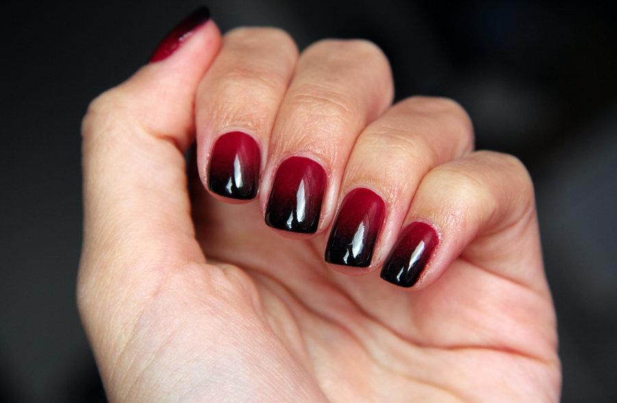Черно-красный градиент