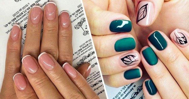 Дизайны покрытия ногтей