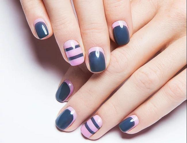 Вариант дизайна ногтей