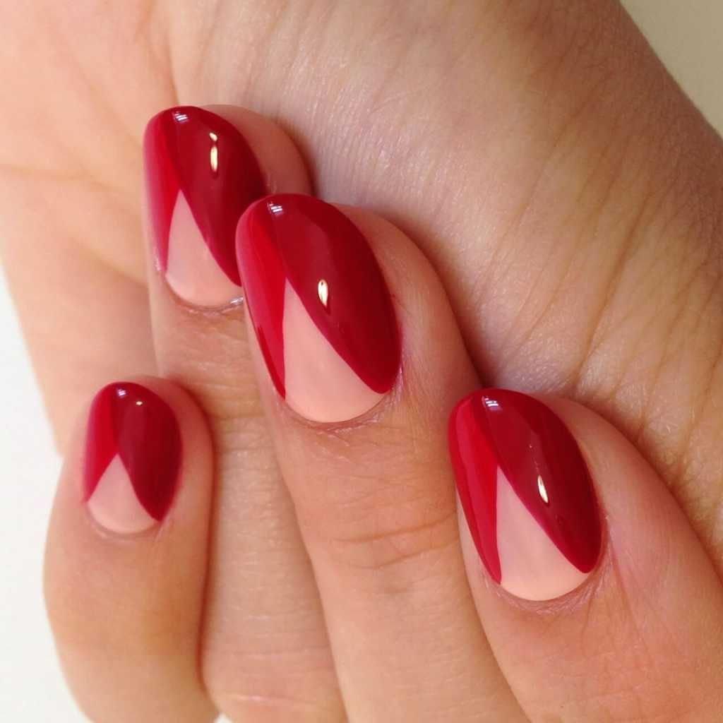 Геометрические фигуры на ногтях