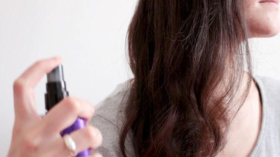 Подготовка к укладке волос