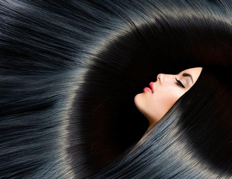 Иссиня-черные волосы