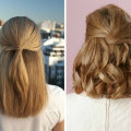Прически на средние волосы своими руками: идеи на все случаи жизни