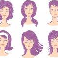 Стрижки для узкого лица: описание, разновидности