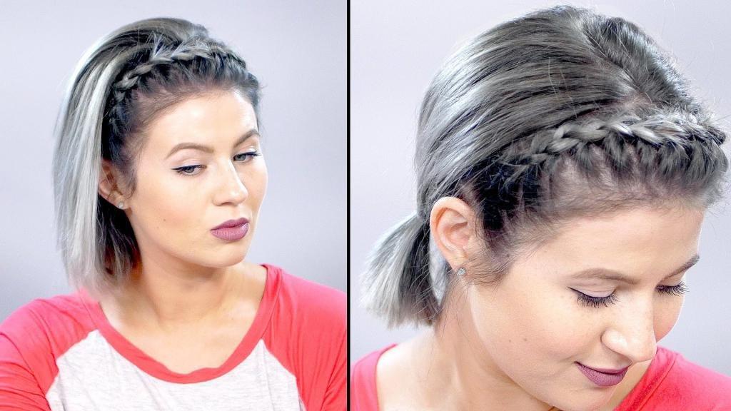 прически на средние волосы на с завивкой