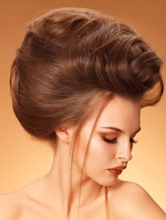 как начесывать волосы для объема
