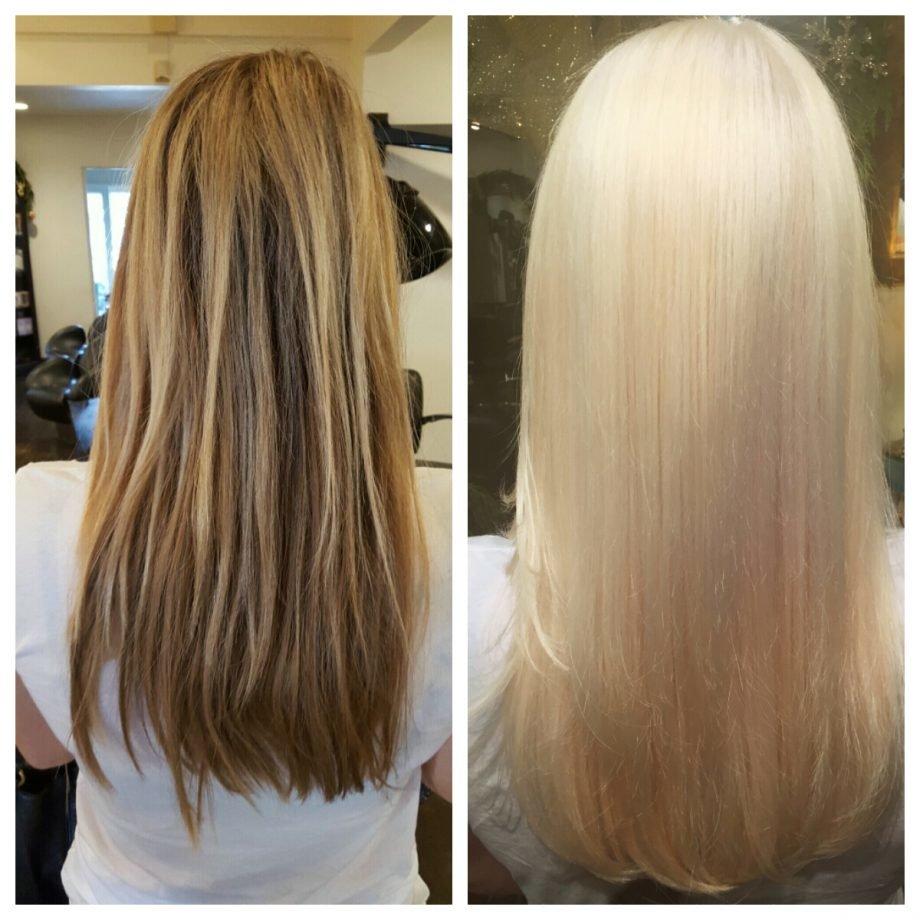 модное окрашивание волос для блондинок