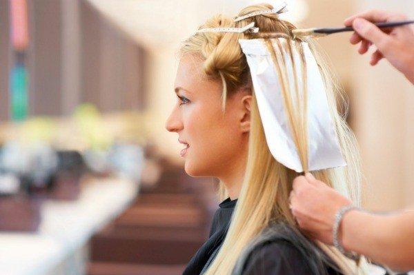 как перекрасить волосы в русый из светло русого