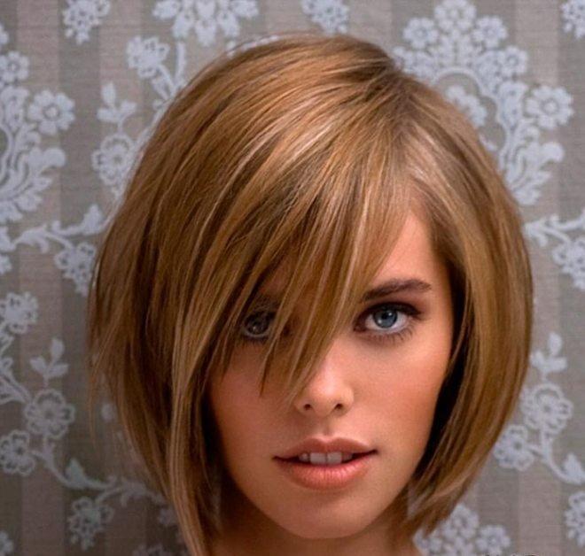 объемная укладка на средние волосы