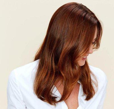 Ореховый цвет волос: особенности, выбор краски