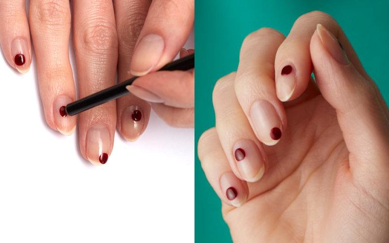 лаконичный дизайн ногтей